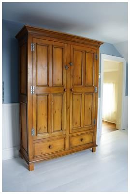 armoire sur mesure en pin de 84 39 39 armoires deux portes. Black Bedroom Furniture Sets. Home Design Ideas